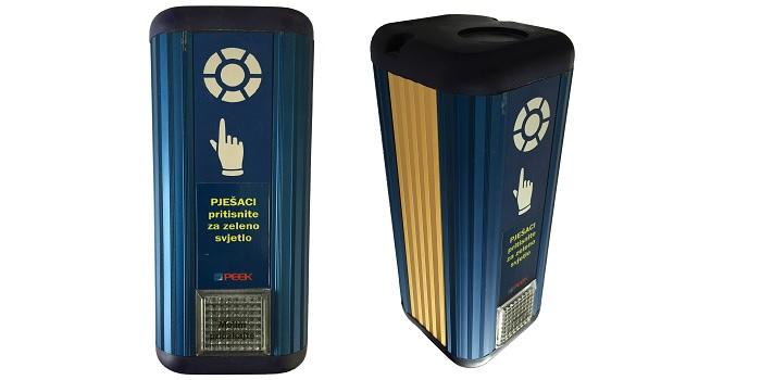 Pješačka tipkala i zvučni signalizatori za pješake